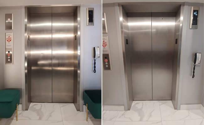 Stainless Steel Restored to Like New